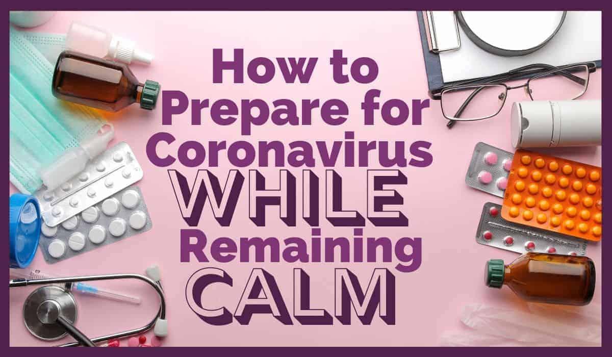 Medical supplies like medicine, stethescope, shot, and pills for coronavirus preparation