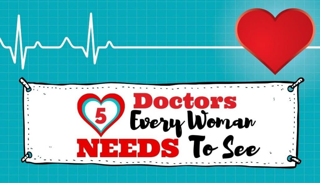 5 doctors every woman needs to see title picture