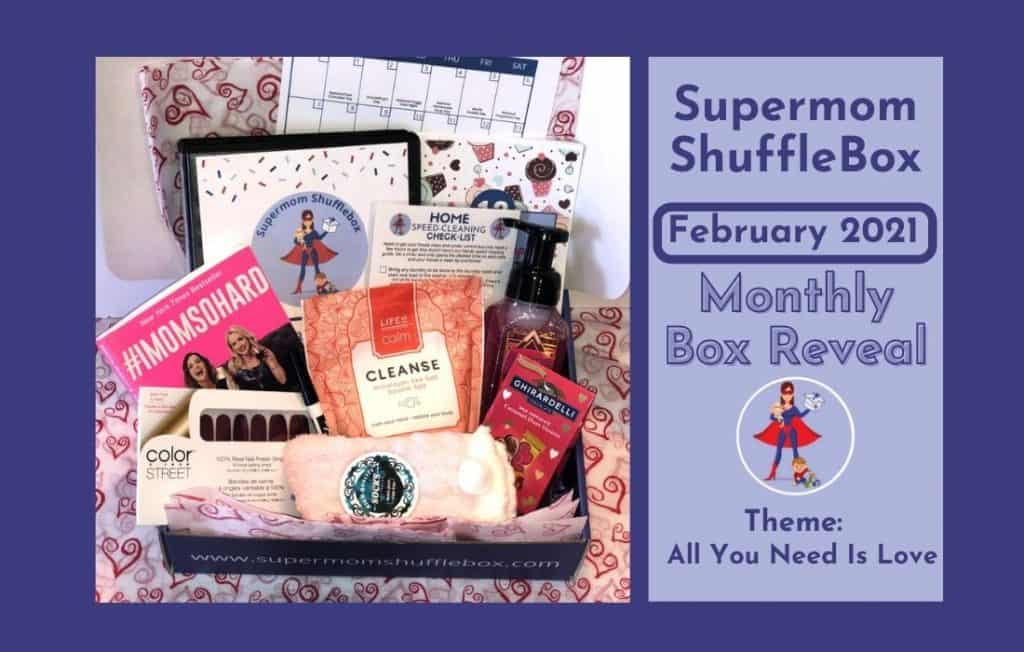 supermom shufflebox monthly reveal picture