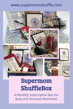 Supermom ShuffleBox - What's IN the Box Pins