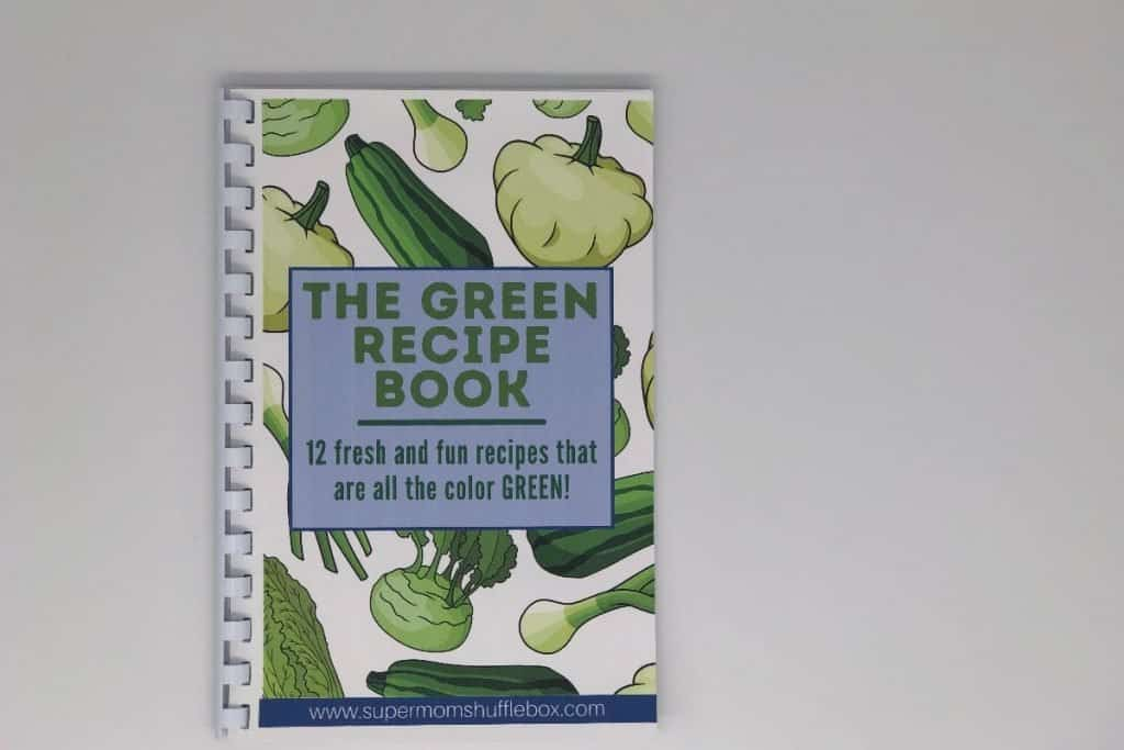 The Green Recipe Cookbook featured in Supermom Shufflebox
