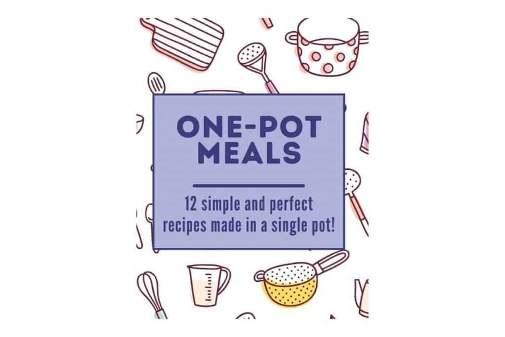 one pot meal cookbook cover