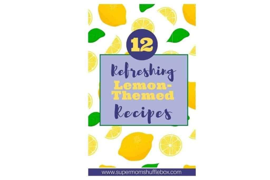 Cover of July Supermom Lemon Cookbook